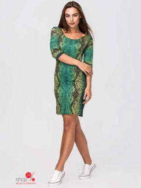 Платье SK House, цвет зеленый