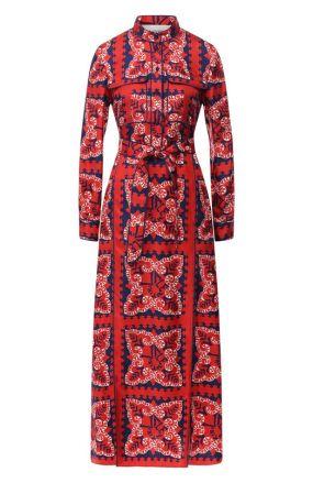 Шелковое платье Valentino