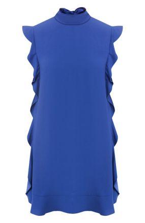 Мини-платье с оборками REDVALENTINO