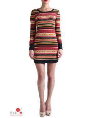 Платье Eva Milano, цвет бордовый