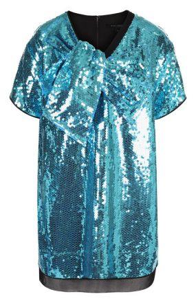 Мини-платье с пайетками THE MARC JACOBS