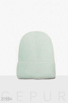 Базовая вязаная шапка