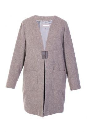 Пальто с жилетом