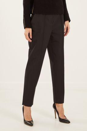 Черные брюки с поясом