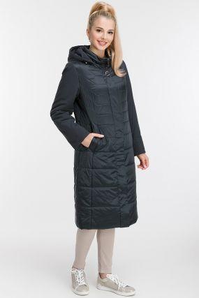 Женское осеннее пальто на синтепоне