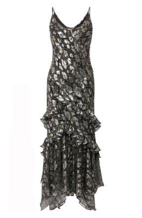 Платье с принтом Michael Kors Collection