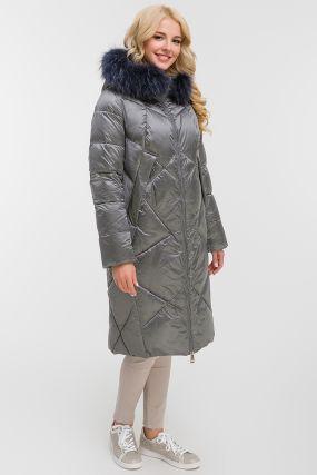 Женское пальто осень-зима прямого силуэта