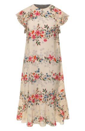 Шелковое платье REDVALENTINO