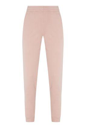 Хлопковые брюки-джоггеры