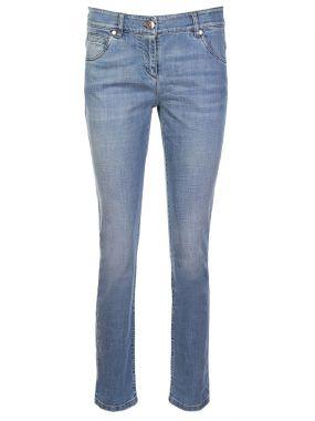 Облегающие джинсы из хлопка