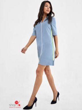 Платье Tom Farr, цвет голубой