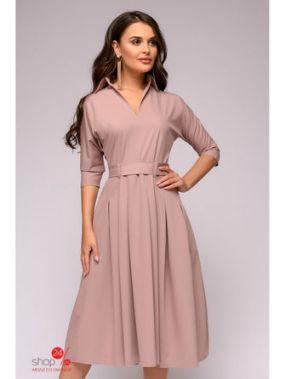 Платье 1001 DRESS, цвет бледно-розовый