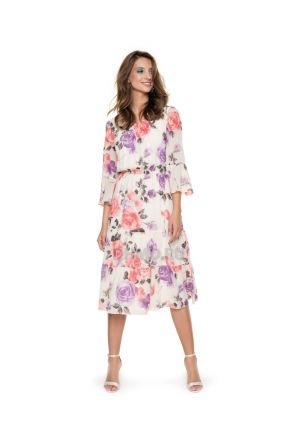 Платье LAME DE FEMME Лила 3F2L-W9 цвет бежевый