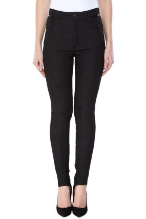 Черные джинсы-скинни