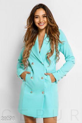 Деловое платье-пиджак