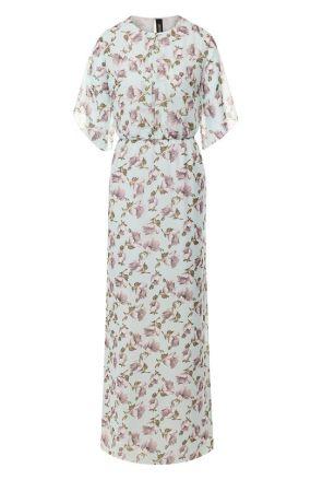 Платье с принтом Poustovit