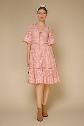Платье 108230 Pink