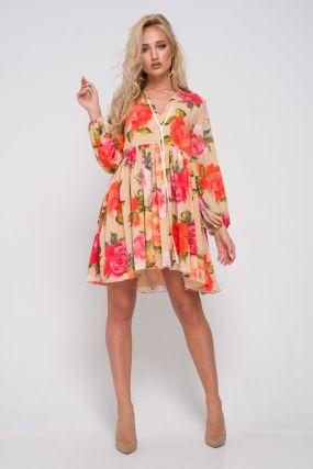 Платье короткое