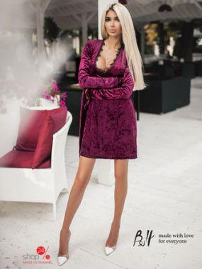 Платье B&H, цвет фуксия