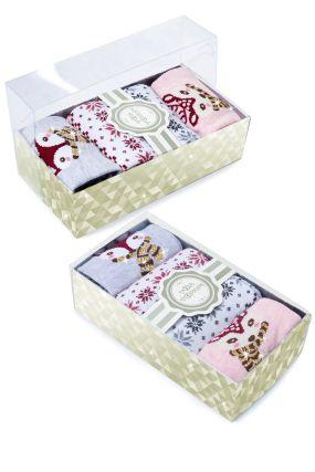 Носки женские iv45182 (упаковка 4 пары) 23-25