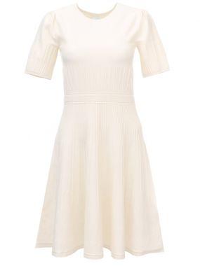 Расклешенное платье из хлопка