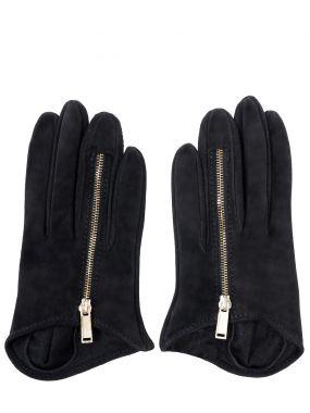 Замшевые перчатки