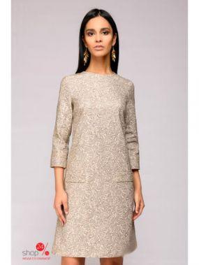 Платье 1001 DRESS, цвет бежевый