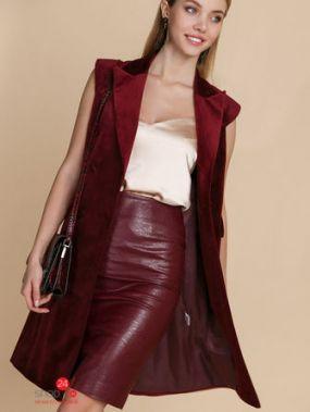 Платье-жилет Audrey Right, цвет бордовый