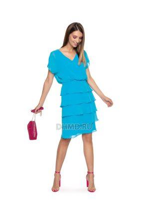 Платье LAME DE FEMME Лаила 3G5L-W8 цвет голубой