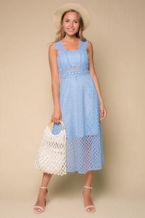 Платье 106937 Light Blue