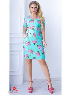 Платье Lilova, цвет мятный