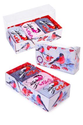 Носки женские iv45187 (упаковка 3 пары) 23-25