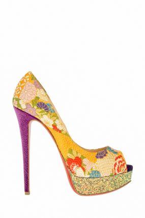 Жаккардовые туфли Lady Peep 150