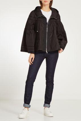 Черная куртка с отделкой