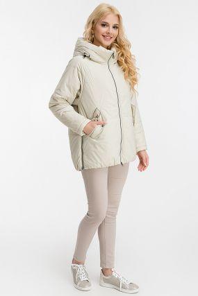Женская куртка средней длины без меха