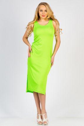 Платье трикотажное Ланей (салатовое)