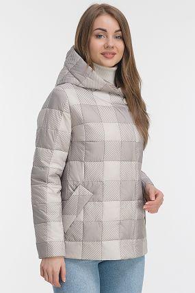 Стильная утепленная куртка с капюшоном