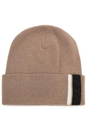 Вязаная шапка из кашемира