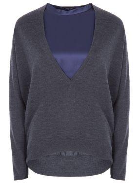 Комплект пуловер и топ