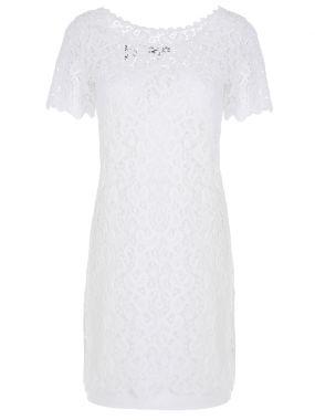 Платье из шитья-кружева