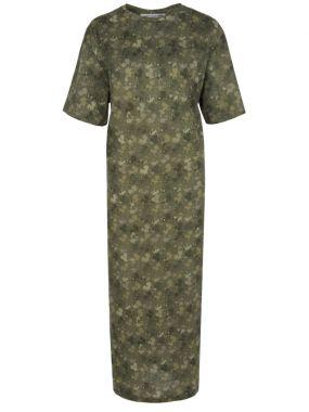 Платье-футболка из хлопка