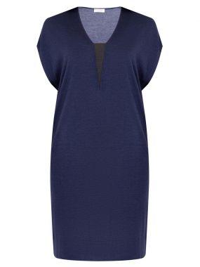 Платье-футболка из кашемира
