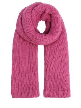 Вязаный шарф из шерсти