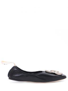 Балетки кожаные Balerina