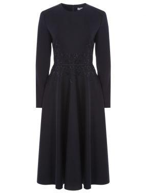 Платье шерстяное