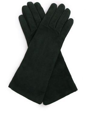 Перчатки замшевые удлиненные