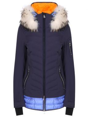 Горнолыжная стеганая куртка