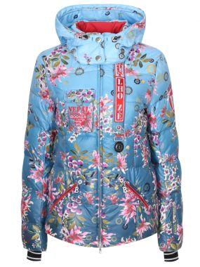 Горнолыжная куртка с принтом