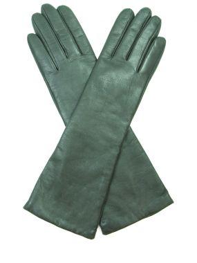 Сенсорные перчатки из кожи