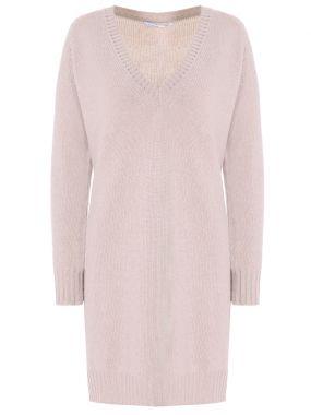 Кашемировая туника-пуловер